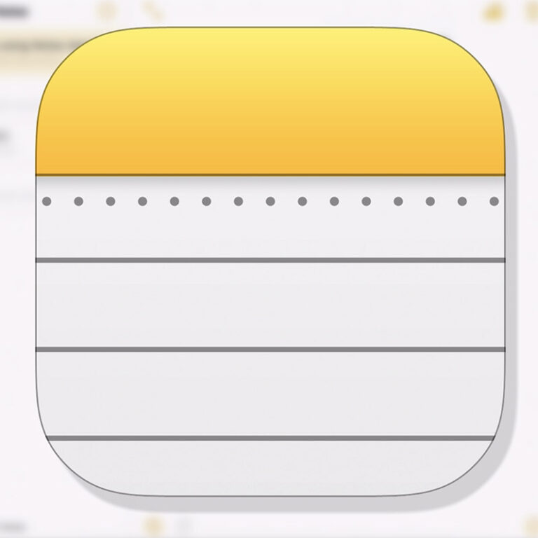 iOS Notes App Scanning Feature