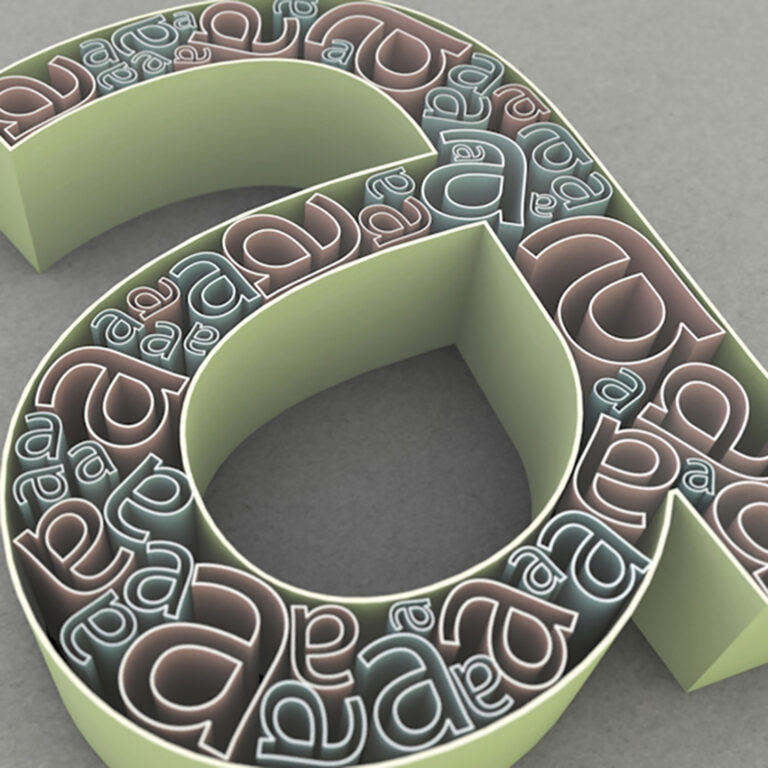 3d Typographic Experiments